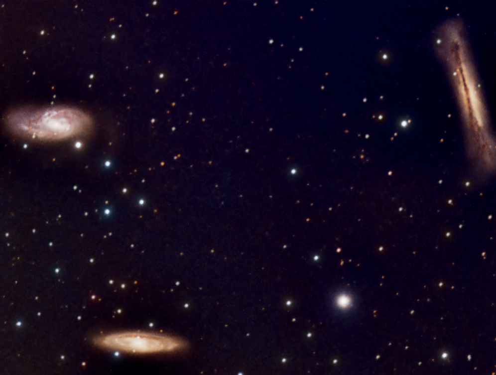 Leo Triplet of Galaxies